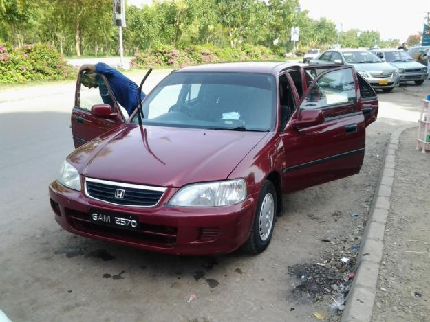 Honda City Model 2000 Mahroon Color For Sale In Islamabad