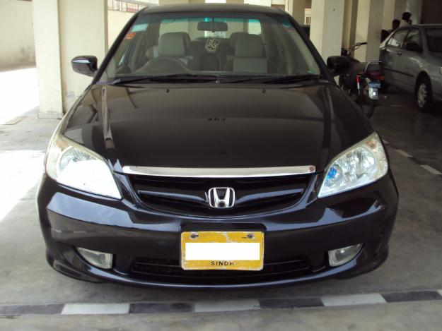 Honda Civic Exi Automatic 2005 Black Color For Sale In Karachi