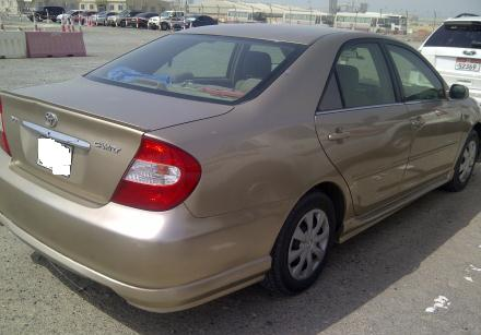 toyota camry 2003 color golden for sale in uae dubai uae free classified. Black Bedroom Furniture Sets. Home Design Ideas