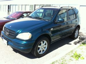 1999 Mercedes Benz M Class Ml430 Suv For Sale Withe Rock