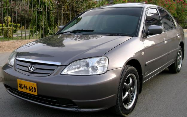 Honda Civic VTI Oriel Prosmatec 2001 Charcol Grey color ...