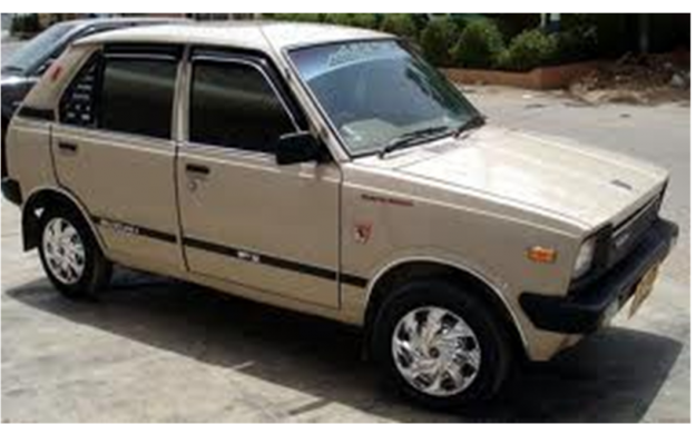 Suzuki Fx Good Condition Cng Fitted 1985 White Color For Sale In