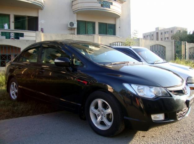 Honda Civic-Reborn 2007 black color for sale in Islamabad - Islamabad, Pakistan - Free ...