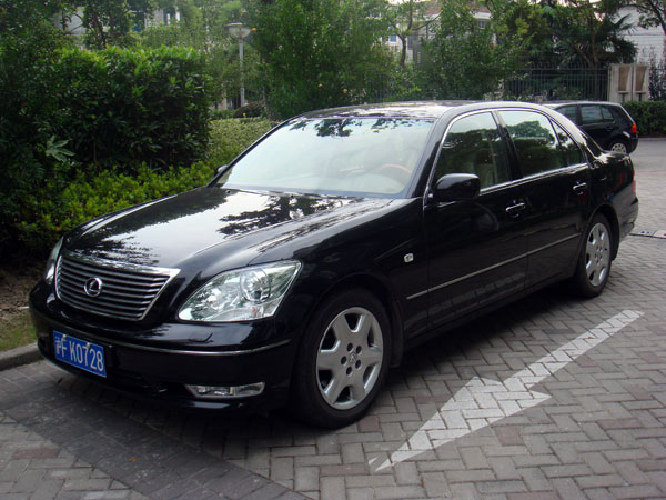 2007 lexus ls430 for sale nanjing china free classifieds muamat. Black Bedroom Furniture Sets. Home Design Ideas