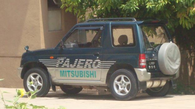 mini pajero autometic jeep 660 cc 1996 green color for sale - islamabad  pakistan