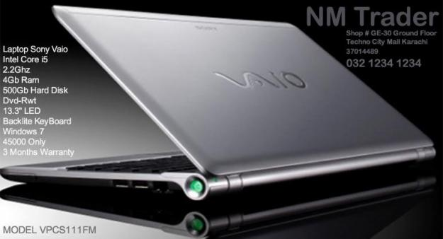 SONY VAIO VPCS111FM DRIVERS WINDOWS XP