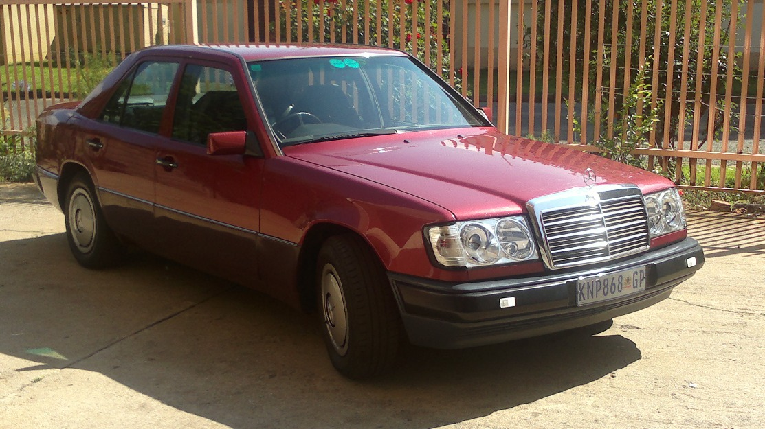 Mercedes benz 230e w124 face lift bethal south africa for Mercedes benz w124 230e workshop manual