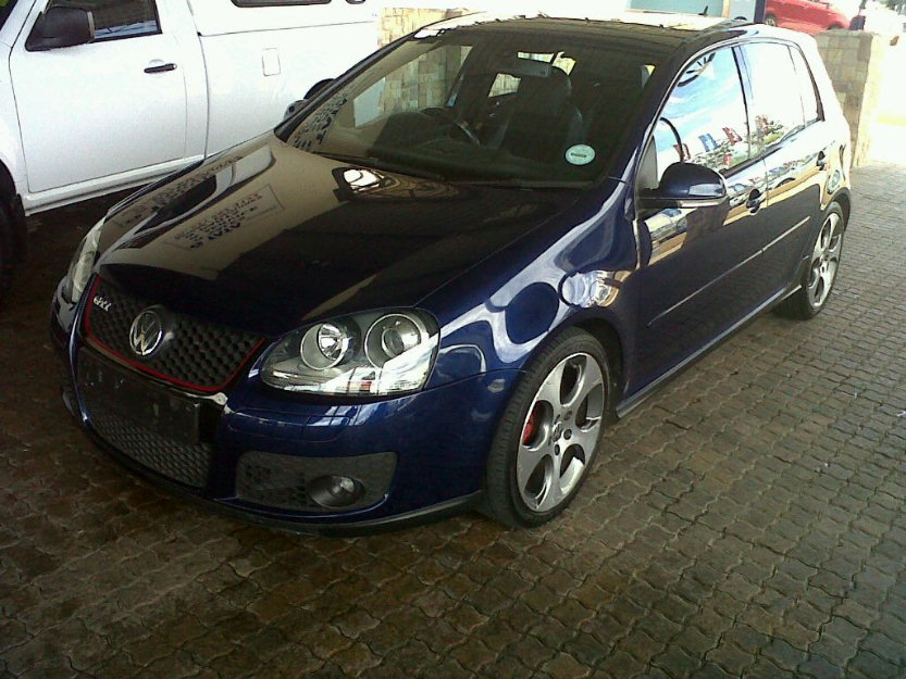 Vw golf 5 gti 2 0 dsg for sale middelburg south africa free