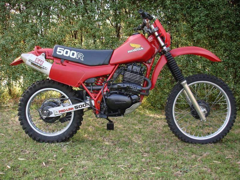1982 Honda Xr500r