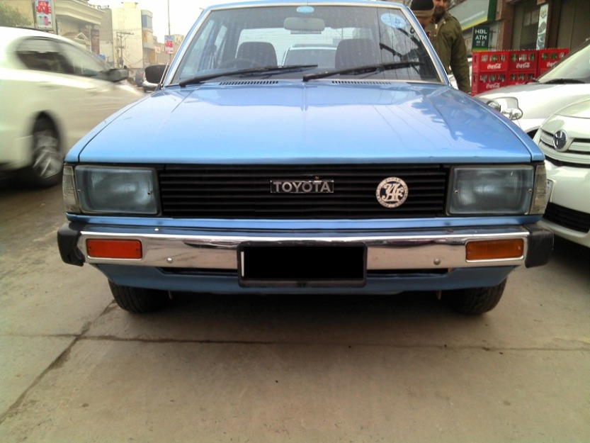 available toyota corolla g 1981 sky blue color for sale lahore pakistan free classifieds. Black Bedroom Furniture Sets. Home Design Ideas
