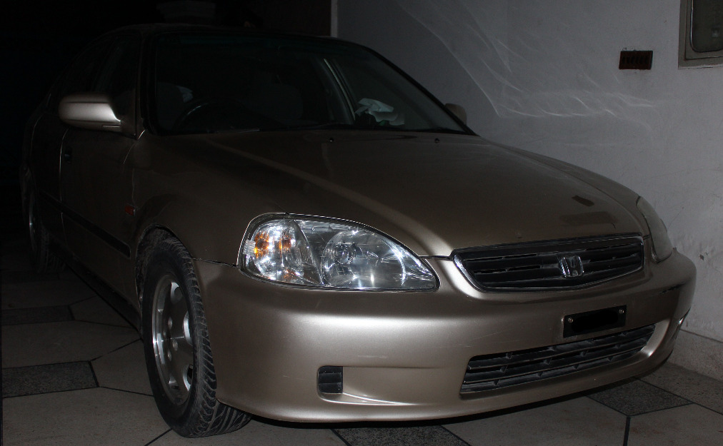 Honda Civic 2000 Golden Color For Sale   Lahore, Pakistan   Free  Classifieds   Muamat
