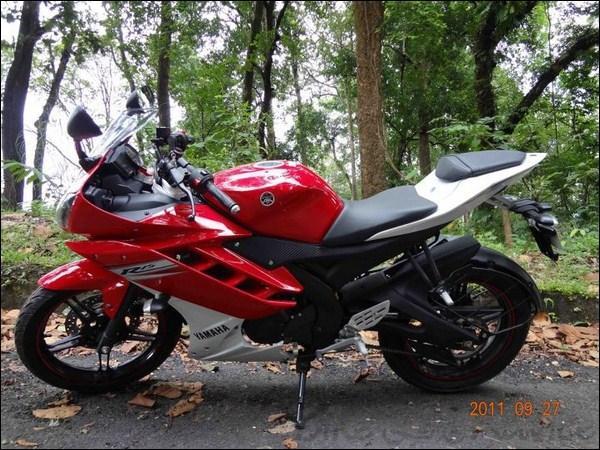 Yamaha R15 Price in India 2012 R15 v2 Yamaha 2012