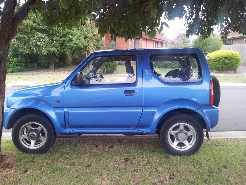suzuki jimny jx 1999 model for sale melbourne australia. Black Bedroom Furniture Sets. Home Design Ideas