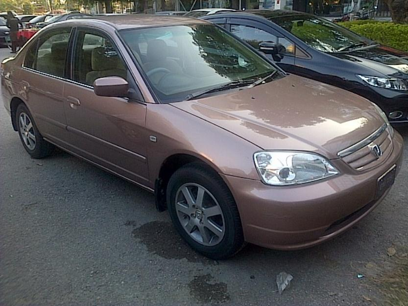 honda civic vti prosmatic 2003 brown color for sale islamabad pakistan free classifieds. Black Bedroom Furniture Sets. Home Design Ideas