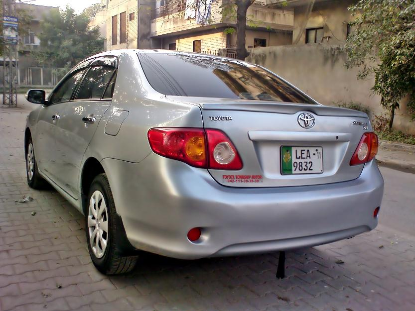 toyota corolla gli 1 3 l 2011 silver color for sale lahore pakistan free classifieds muamat. Black Bedroom Furniture Sets. Home Design Ideas