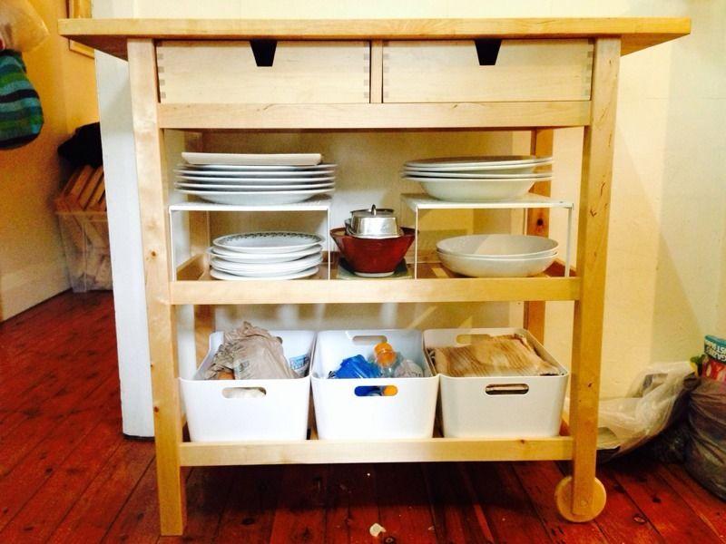 Ikea Forhoja Kitchen Trolley Brisbane Australia Free Classifieds Muamat